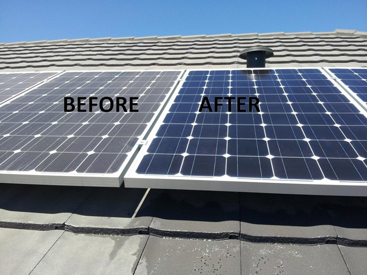 Solar Panel Cleaning Tuvapor Eco Cleaning Solutions